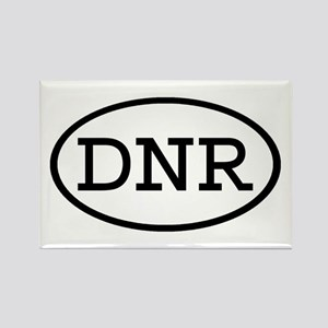 DNR Oval Rectangle Magnet