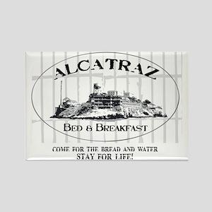 ALCATRAZ BB Rectangle Magnet