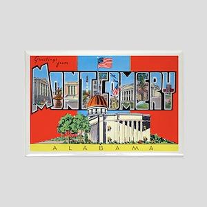 Montgomery Alabama Greetings Rectangle Magnet