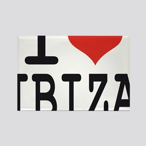 I love Ibiza Rectangle Magnet