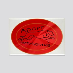 flare hound Rectangle Magnet