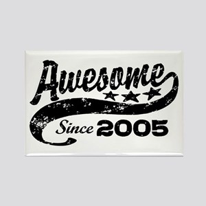 Awesome Since 2005 Rectangle Magnet