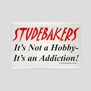 Studebaker Addiction Rectangle Magnet