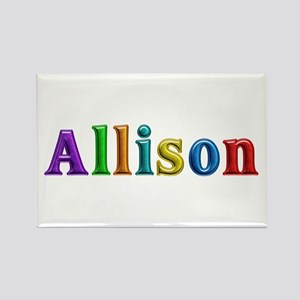 Allison Shiny Colors Rectangle Magnet