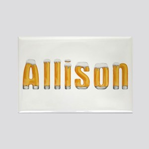Allison Beer Rectangle Magnet