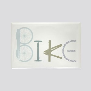Bike Word From Bike Parts Magnets