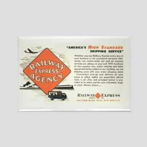 Railway Express Agency 1948 Rectangle Magnet