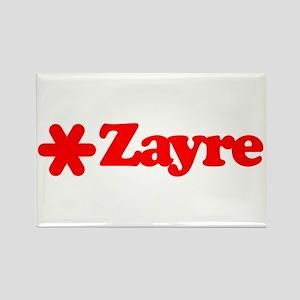 Zayre Star Rectangle Magnet