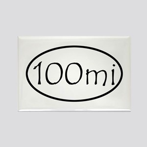 ultracycling - 100mi Rectangle Magnet