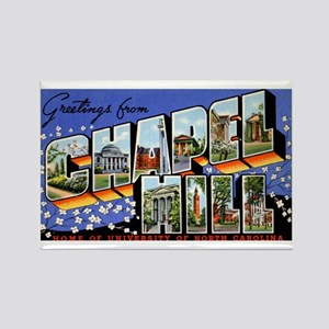 Chapel Hill North Carolina Rectangle Magnet