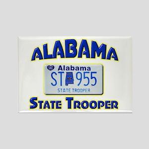 Alabama State Trooper Rectangle Magnet