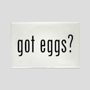 got eggs? (B) Rectangle Magnet