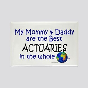 Best Actuaries In The World Rectangle Magnet