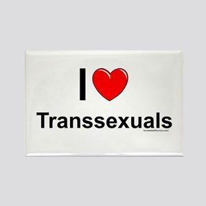 Transsexuals Rectangle Magnet