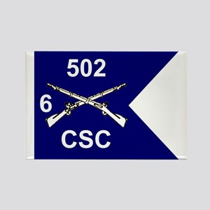 CSC 6/502nd Rectangle Magnet