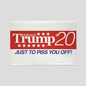 Donald Trump '20 Rectangle Magnet