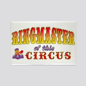 Circus Ringmaster Rectangle Magnet