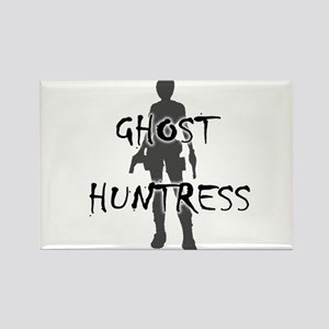Ghost Huntress Rectangle Magnet