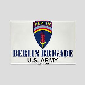 Berlin Brigade Rectangle Magnet