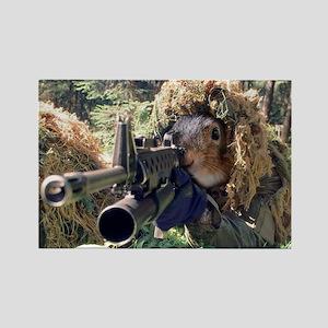 Squirrel Sniper Magnets