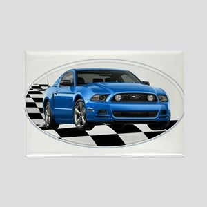 GB14MustangGT Rectangle Magnet