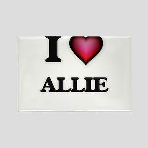 I Love Allie Magnets