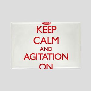 Keep Calm and Agitation ON Magnets