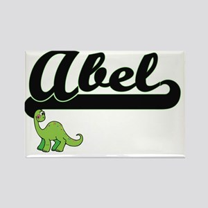 Abel Classic Name Design with Dinosaur Magnets