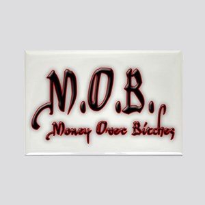 M.O.B. - RED Rectangle Magnet