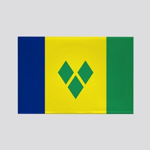 St Vincent & The Grenadines Nal f Rectangle Magnet