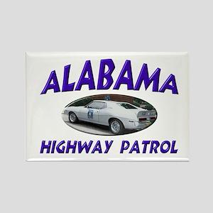 Alabama Highway Patrol Rectangle Magnet