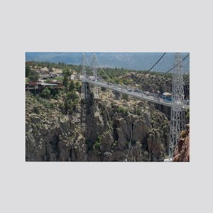 Royal Gorge Bridge Jan Rectangle Magnet