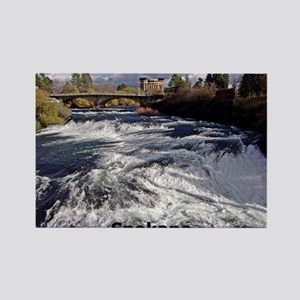Spokane River Upper Falls Magnets