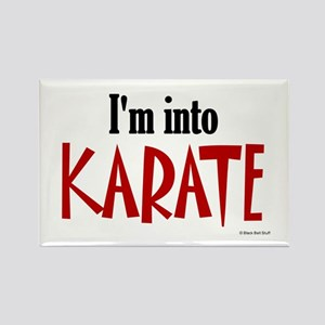 I'm Into Karate Rectangle Magnet
