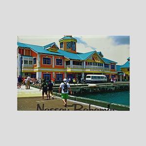 Nassau Bahamas Rectangle Magnet