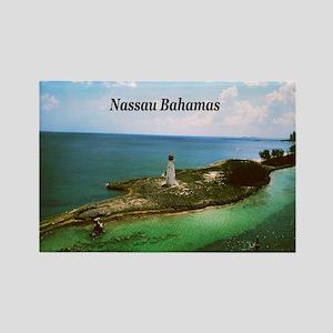 Nassau lighthouse Rectangle Magnet
