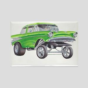 57 Green Gasser  Magnets