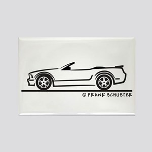 New Ford GT Mustang Convertib Rectangle Magnet