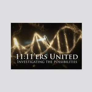 11:11'ers United Logo Magnets