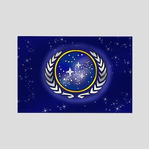 Federation Flag Rectangle Magnet