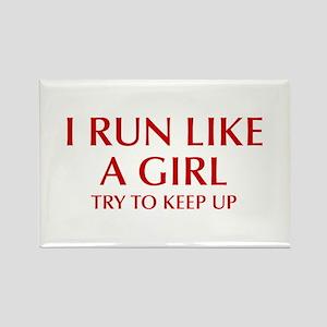 I-run-like-a-girl-OPT Magnets