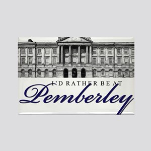 Id rather be at Pemberley Magnets