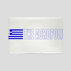 The Acropolis Rectangle Magnet