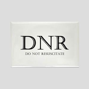 Do Not Resuscitate Rectangle Magnet