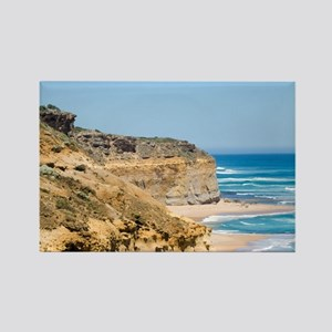 Australia Coastline Rectangle Magnet