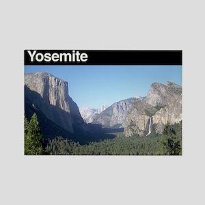 Yosemite NP Rectangle Magnet