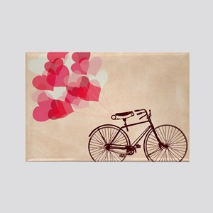 Heart-Shaped Balloons and Bicycle Magnets