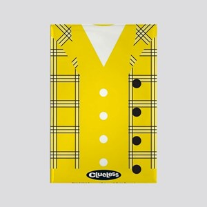 Clueless - Yellow Rectangle Magnet