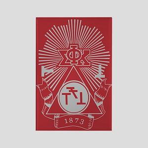 Phi Sigma Kappa Crest Rectangle Magnet