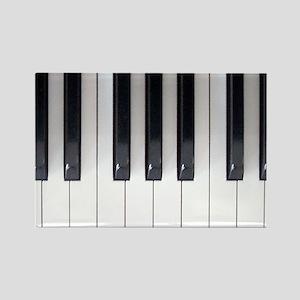 Keyboard 7 Rectangle Magnet